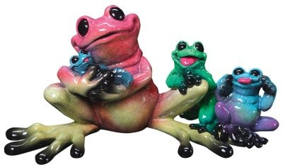 Kitty's Critters 8071 Full House Figurine Frog