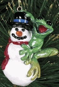 Kitty's Critters 8319 Frosty Frog