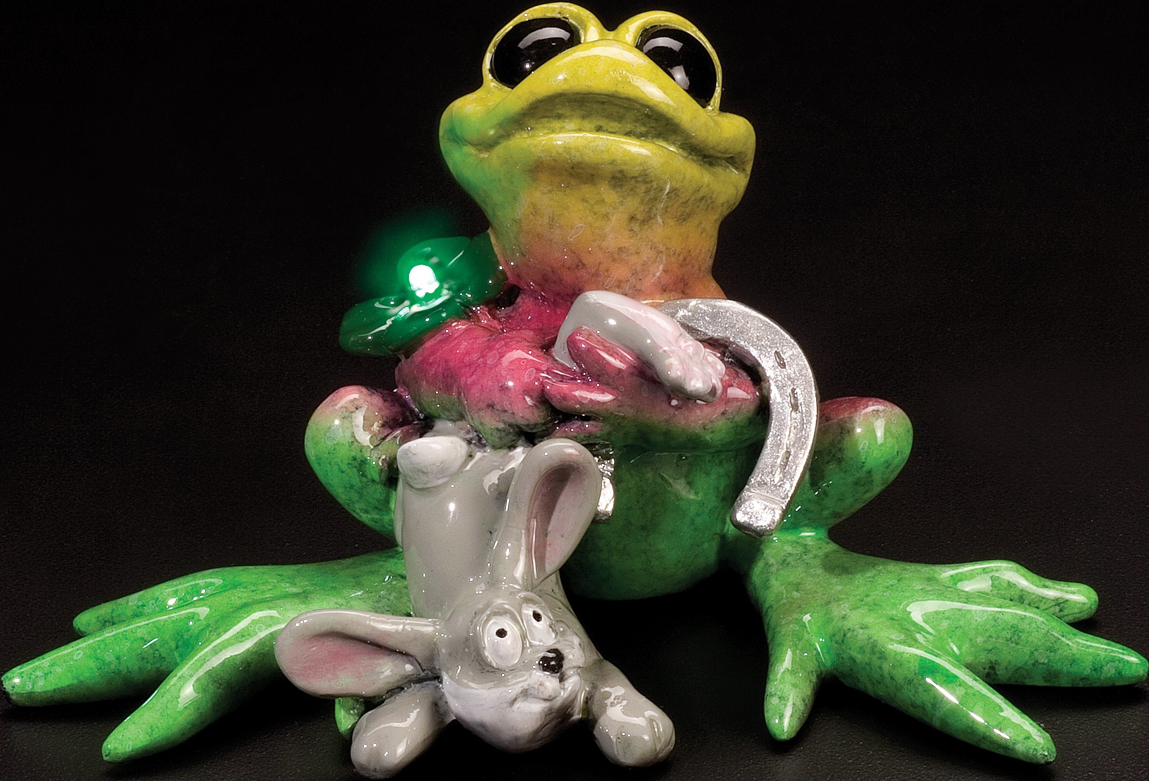 Kitty's Critters 8366 For Luck Frog