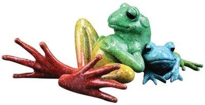 Kitty's Critters 8441 Siesta Figurine Frog