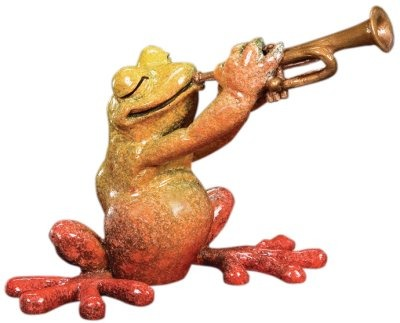 Kitty's Critters 8485 Pete Figurine Frog