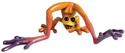 Kitty's Critters 8518 Ping Figurine Frog