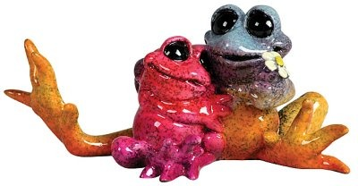 Kitty's Critters 8523 Moments Figurine Frog