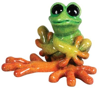Kitty's Critters 8532 Promise Figurine Frog