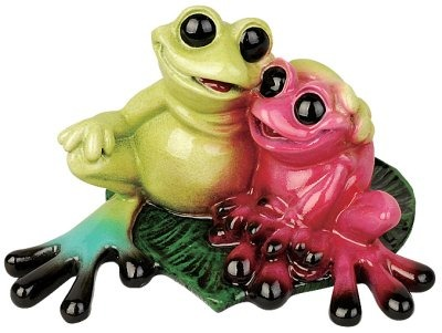 Kitty's Critters 8542 In Love Figurine Frog