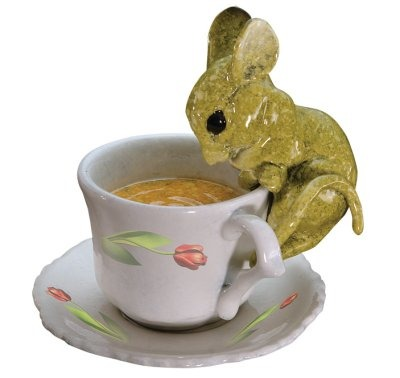 Kitty's Critters 8591 Ms Tea Time Mouse