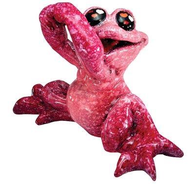 Kitty's Critters 8593 Love Struck Figurine Frog