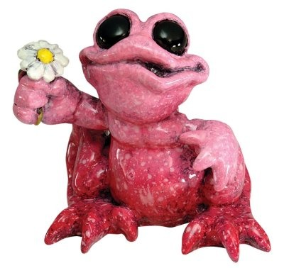 Kitty's Critters 8601 Daisy Figurine Frog