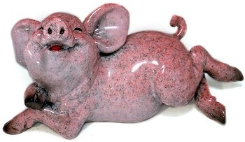 Kitty's Critters 8639 Betty Figurine Pig