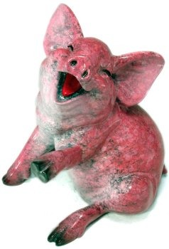 Kitty's Critters 8640 Suzie Figurine Pig