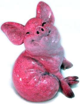 Kitty's Critters 8641 Jessie Figurine Pig
