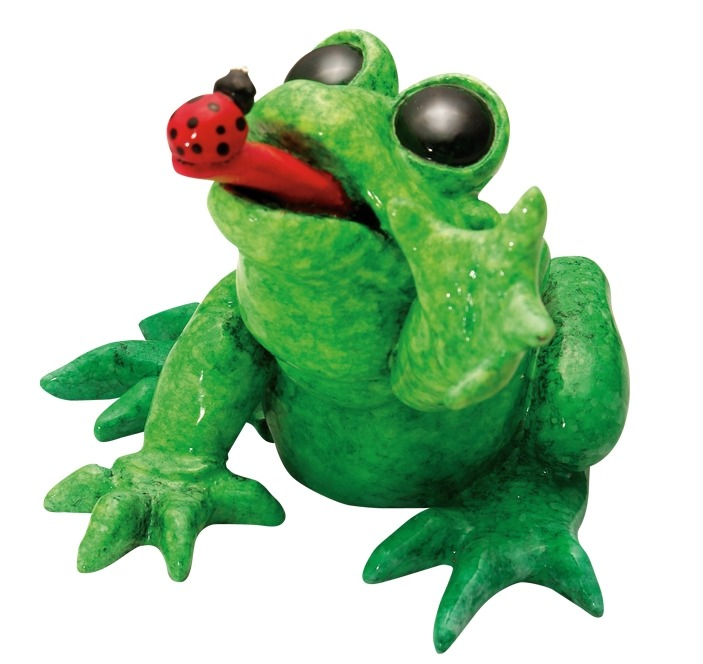 Kitty's Critters 8647 Bugsy Figurine Frog
