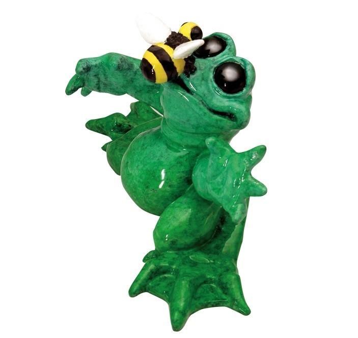 Kitty's Critters 8652 Honey Figurine Frog