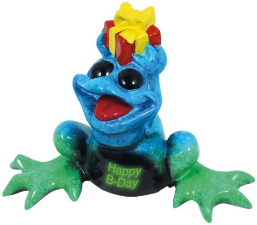 Kitty's Critters 8676 Happy B-day Tipsies Frog