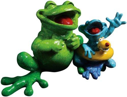 Kitty's Critters 8688 Just Keep Swimmin' Figurine Frog