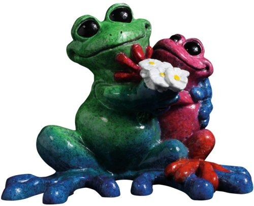 Kitty's Critters 8689 Luv Bugs Figurine Frog