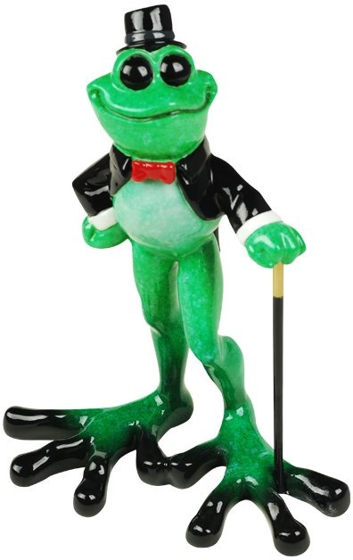 Kitty's Critters 8692 Sir Dapper Figurine Frog