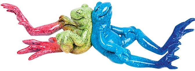 Kitty's Critters 8698 Lean On Me Figurine Frog