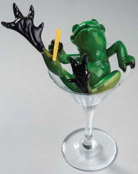 Kitty's Critters 8728 Lemon Drop Frog