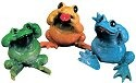 Kitty's Critters 8044 No Evil Collection 3 pc Figurine Frog