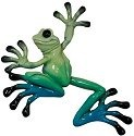 Kitty's Critters 8286 Little Lucy Figurine Frog