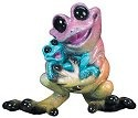 Kitty's Critters 8289 Rock-a-bye Baby Figurine Frog