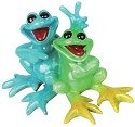 Kitty's Critters 8546 Buddies Figurine Frog