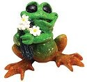 Kitty's Critters 8594 Just Because Figurine Frog