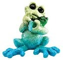Kitty's Critters 8603 Coochi Coo Figurine Frog
