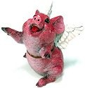 Kitty's Critters 8626 Cutie Figurine Pig