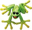 Kitty's Critters 8646 Spanky Figurine Frog