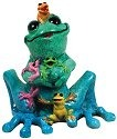 Kitty's Critters 8674 Super Mom Tipsies Figurine Frog