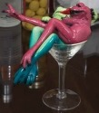 Kitty's Critters 8726 Dirty Martini Frog