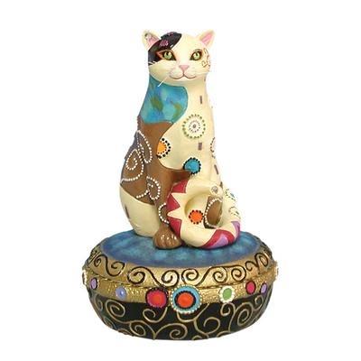Kleo Kats 13032 Sitting Pretty Trinket Box