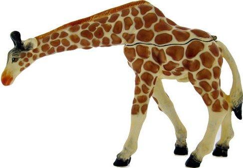 Kubla Crafts Bejeweled Enamel KUB 00-3916 Large Giraffe Box