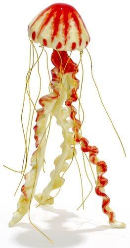 Kubla Crafts Bejeweled Enamel KUB 3004 Jelly Fish Figure