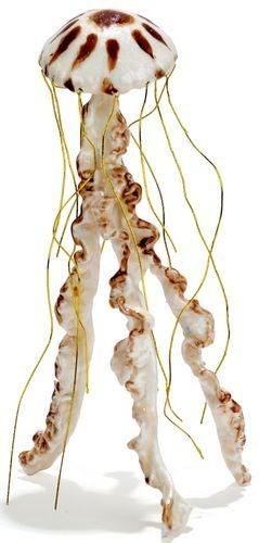 Kubla Crafts Bejeweled Enamel KUB 3005 Jelly Fish Figure