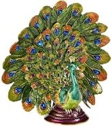 Kubla Crafts Bejeweled Enamel KUB 3153 Peacock Large Box