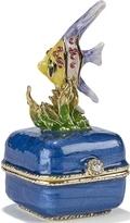 Kubla Crafts Bejeweled Enamel KUB 3189 Fish on Box