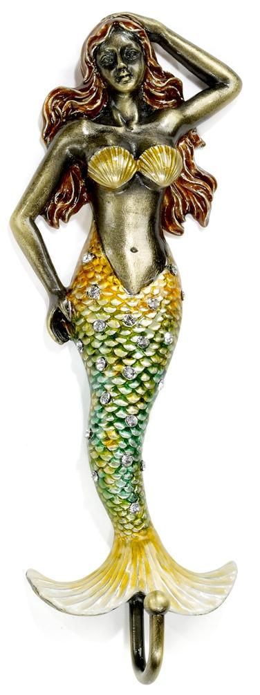 Kubla Crafts Bejeweled Enamel KUB 3215 Bjeweled Mermaid with Hook