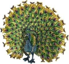Kubla Crafts Bejeweled Enamel KUB 3295 Peacock Extra Large Box