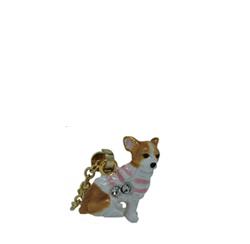 Kubla Crafts Bejeweled Enamel KUB 3306N Chihuahua Dog Necklace