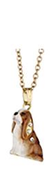 Kubla Crafts Bejeweled Enamel KUB 3724N Cavalier Necklace