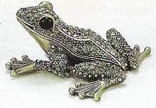Kubla 3740 Frog Jeweled Box