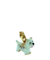 Kubla Crafts Bejeweled Enamel KUB 3811N Westie West Highland Terrier Dog Necklace