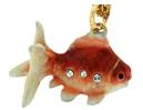 Kubla Crafts Bejeweled Enamel KUB 4069N Koi Necklace