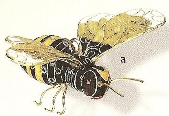 Kubla 4824 Bee Set of 3 Ornament