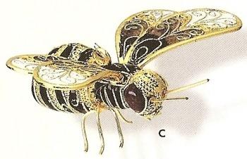 Kubla 4845 Bee Set of 3 Figurine