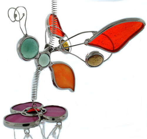 Kubla 6451BO Wind Chime Bee Orange
