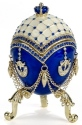 Kubla Crafts Bejeweled Enamel KUB 0-3691 Egg Large Bejeweled Box